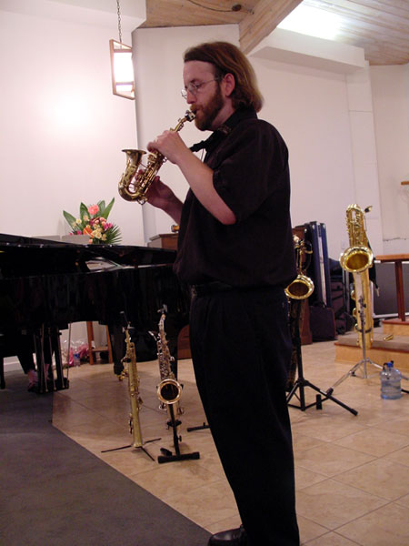 Jay C  Easton: Saxophone Family Gallery