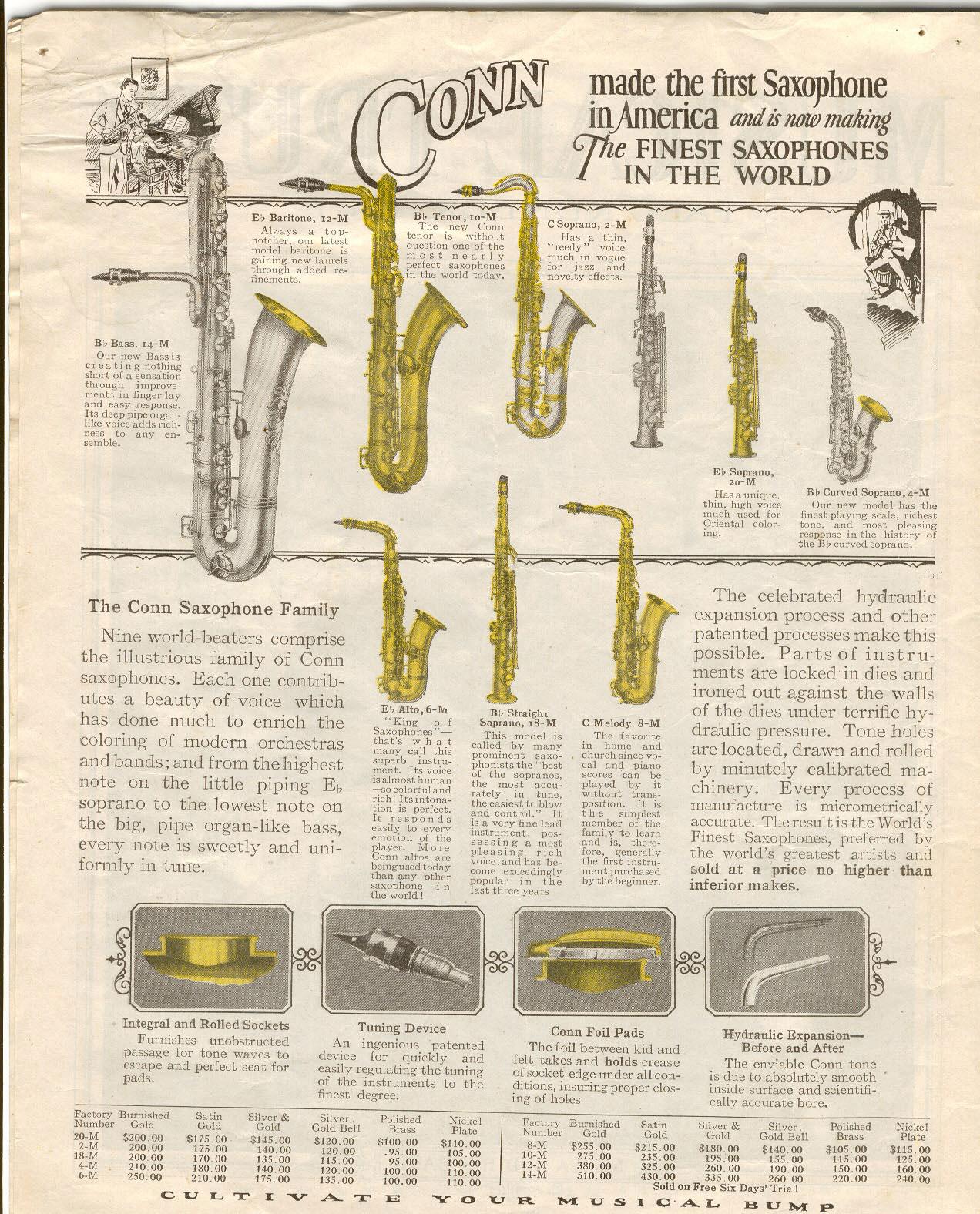 Types of saxophones cordons amp harnais saxophones 1170 183 952