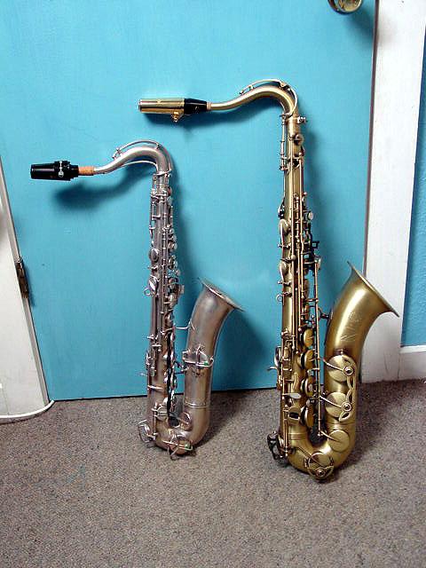 Jay C. Easton: Saxophone Family Gallery