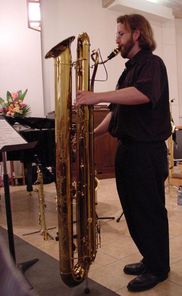 Jay C  Easton  The Subcontrabass Saxophone